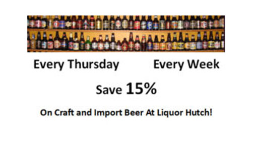 Save on Craft and Import Beer